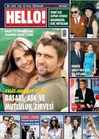 Hello Dergisi Burcu Kara Tuğçe Yusufoğlu Elbisesi ile