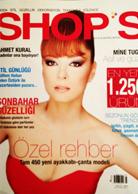 Shops Dergisi Kapağı Tuğçe Yusufoğlu Elbise